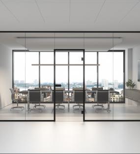 Glasvægge & -døre